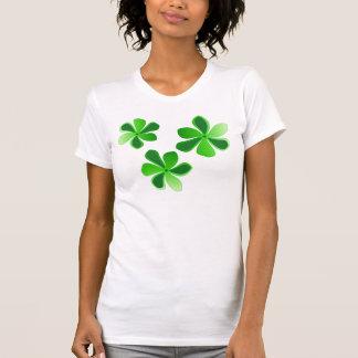 gröntblommor t shirt