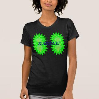 gröntblommor t-shirt