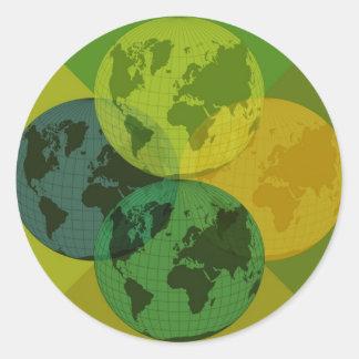 Jorden Klistermärken
