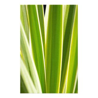 gröntlöv specificerar/abstrakt naturbakgrund brevpapper