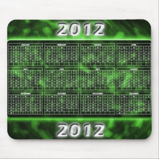GröntMousepad kalender 2012 Mus Mattor