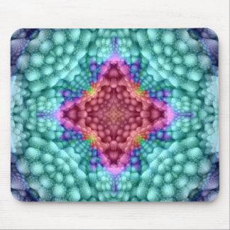 Groovy blåttvintageKaleidoscope färgrika Mousepad Musmatta