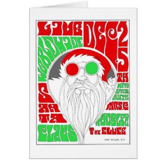 Groovy Santa Hälsningskort