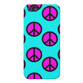 Groovy tonåring Hippiekricka- och iPhone 5 Fodraler