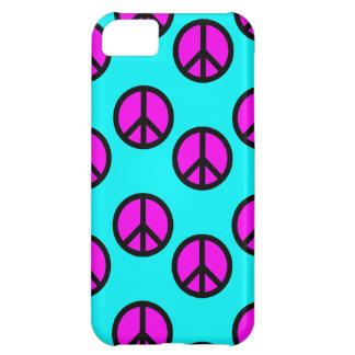 Groovy tonåring Hippiekricka- och iPhone 5C Fodral