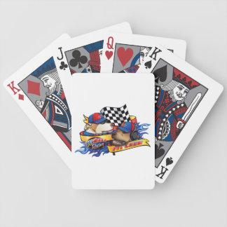 Gropbesättning Spelkort