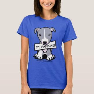 Gropen händer konst för groptjurhunden tshirts