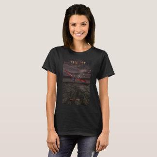 Gropen täcker kvinna utslagsplats tee shirts
