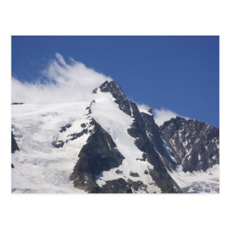 Grossglockner österrikisk alperna vykort
