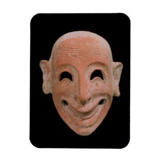Grotesken maskerar, från Motya, 6eårhundradet BC ( Magnet