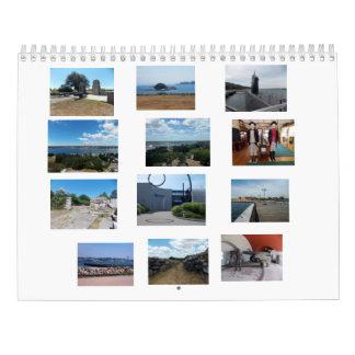 Groton/nya London för lokalkalendern Kalender