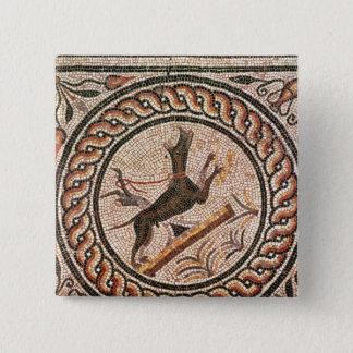 GrottaCanem 2nd-3rd århundrade Standard Kanpp Fyrkantig 5.1 Cm