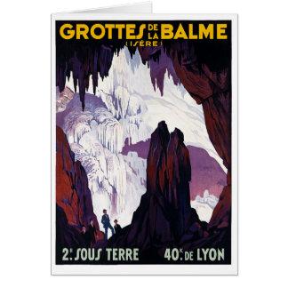 Grottes de la Balme Hälsningskort