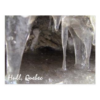 Grottor för skrovQuebec sandiga is Vykort