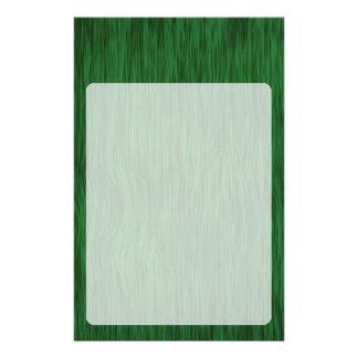 Grov Wood kornbakgrund - grönt Brevpapper