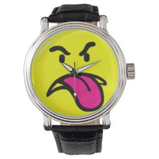 Grrr Time - klocka för klassikervintageläder