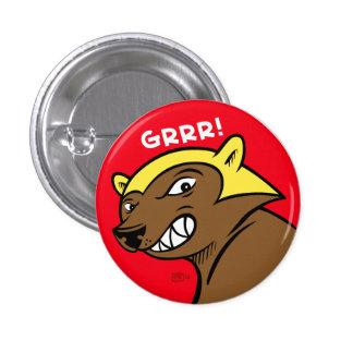 GRRREN! Klämma fast Mini Knapp Rund 3.2 Cm