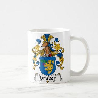 Gruber familjvapensköld kaffemugg