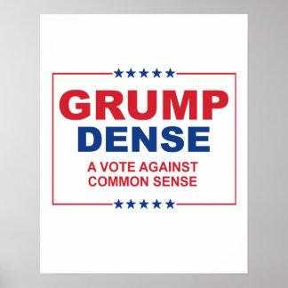 GRUMP TÄTT 2016 - en rösta mot sunt förnuft - A Poster