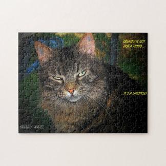 Grumpy är en livsstil jigsaw puzzle
