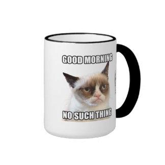 Grumpy Cat™ bra morgon - ingen sådan sak Kaffe Kopp