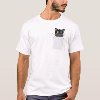 Grumpy katt i min fick- roliga T-tröja T Shirt