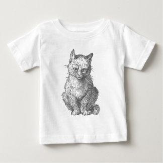 Grumpy kattdesign för vintage tee shirt