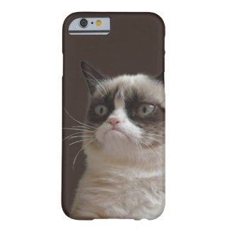 Grumpy kattilsken blick barely there iPhone 6 fodral