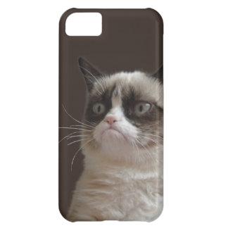 Grumpy kattilsken blick iPhone 5C fodral