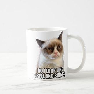 Grumpy kattmugg kaffe mugg