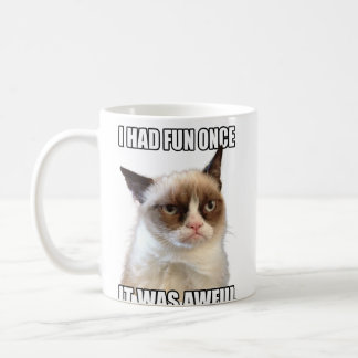 Grumpy kattmugg kaffemugg