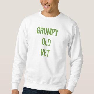 """Grumpy tröja """"för GRUMPY GAMMAL VET"""" för Vets"""