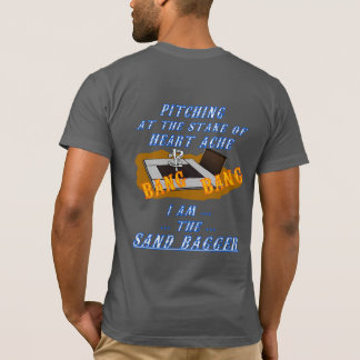 Grundläggande amerikanhästsko som kastar tröja