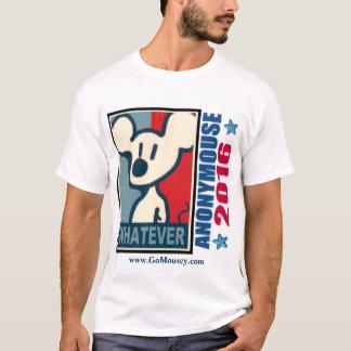 (Grundläggande) Anonymouse 2016, T-shirts