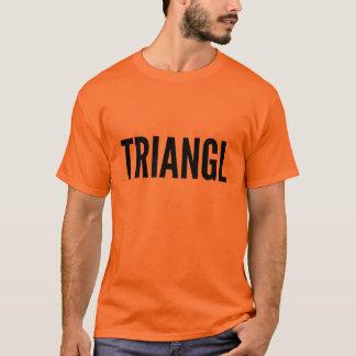 Grundläggande anpassadefärg för TRIANGL, manar Tshirts