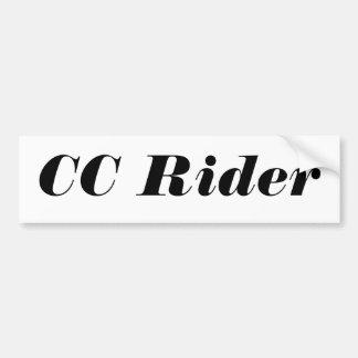 Grundläggande bildekal för CC-ryttare