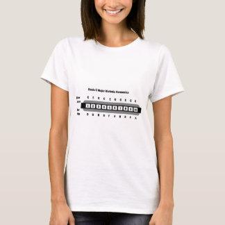 Grundläggande C ha som huvudämne den Diatonic Tee Shirts