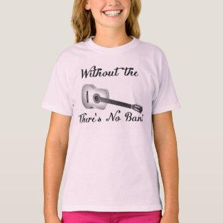 Grundläggande Hanes Tagless för akustiska Tee Shirts