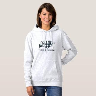 Grundläggande Hooded tröja för musik