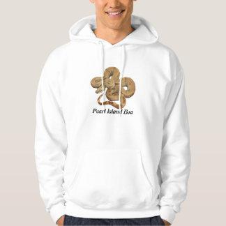 Grundläggande Hooded tröja för pärlemorfärg öBoa