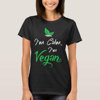 Grundläggande kvinna T-tröja för Vegans