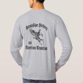 Grundläggande långärmadT-tröja för hästskor T Shirt
