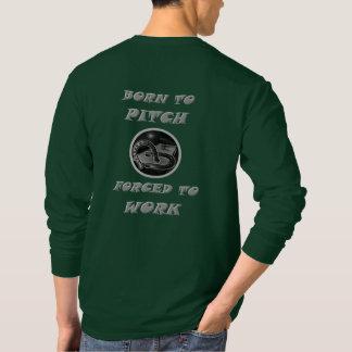 Grundläggande långärmadT-tröja för hästskor Tee