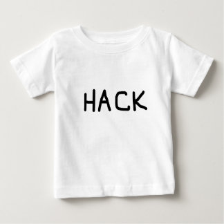 grundläggande logotyp för hacka t-shirts