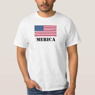 'Grundläggande MERICA-utslagsplats - Tee Shirt
