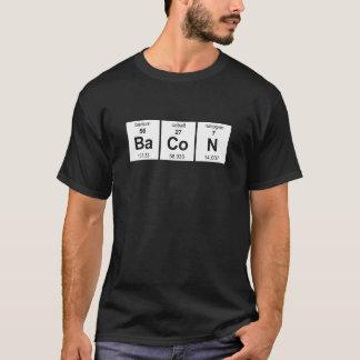 Grundläggande mörk skjorta för bacon tshirts