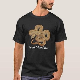 Grundläggande mörk T-tröja för pärlemorfärg öBoa T Shirt