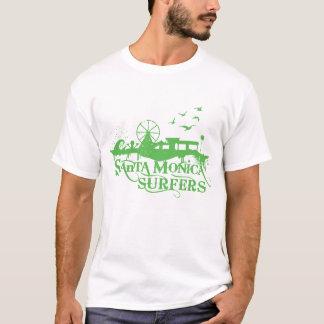 Grundläggande SMS T - grön logotyp Tee Shirt