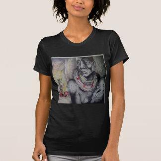 Grundläggande T-Shir Hakuna Matata med lejon och T-shirt