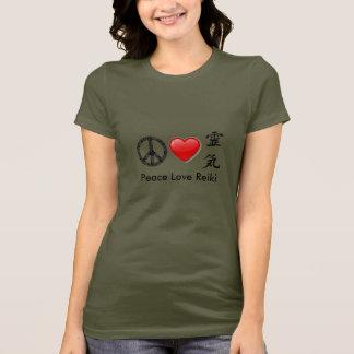 Grundläggande T-tröja för fredkärlekReiki damer Tee Shirts